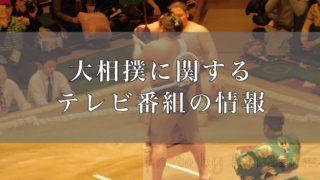 大相撲テレビ番組